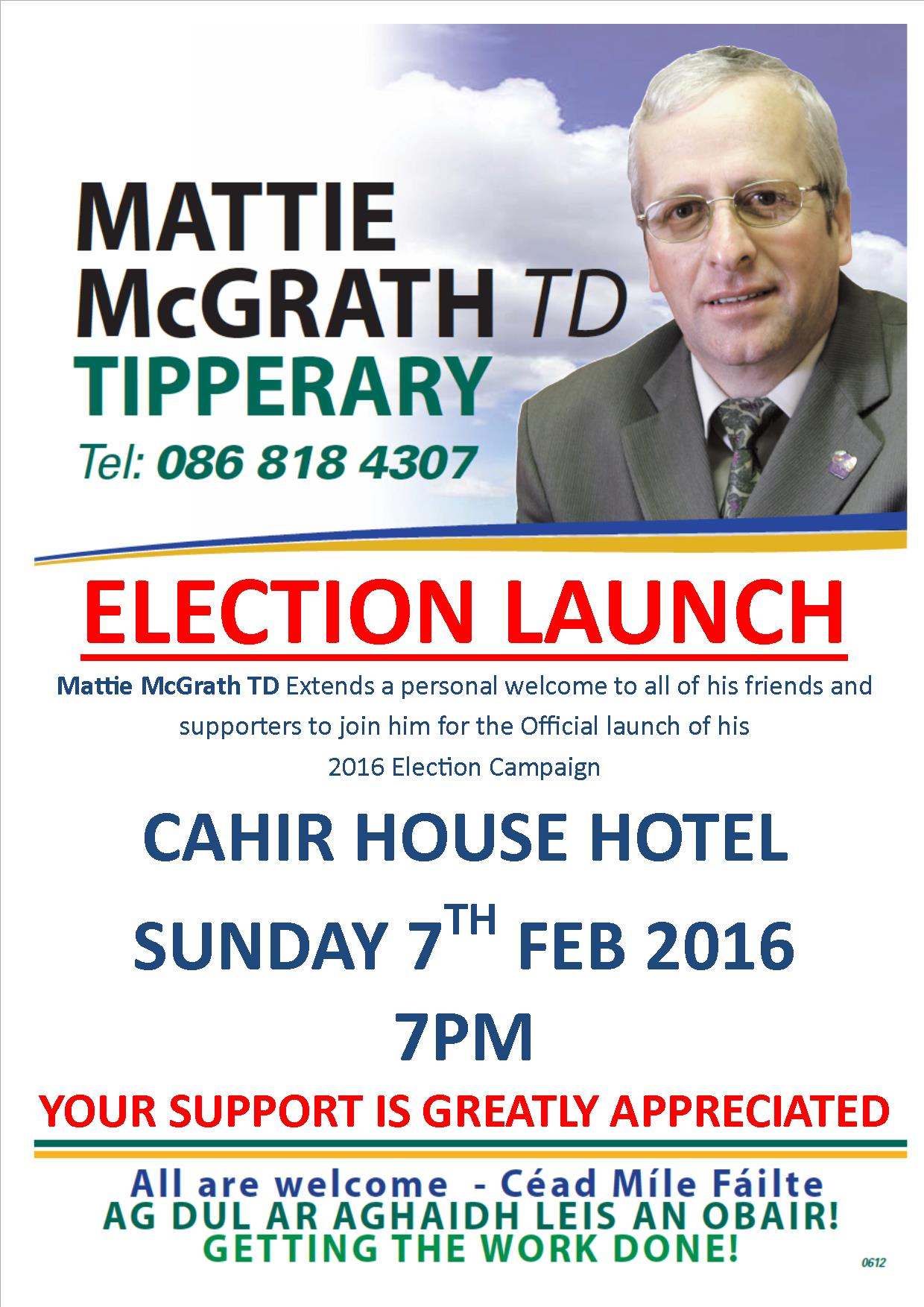 Campaign Launch FB Poster